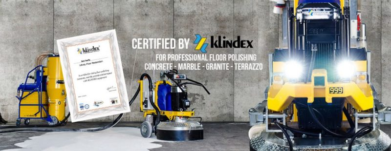 Certified by Klindex - Infinity Floor Restoration