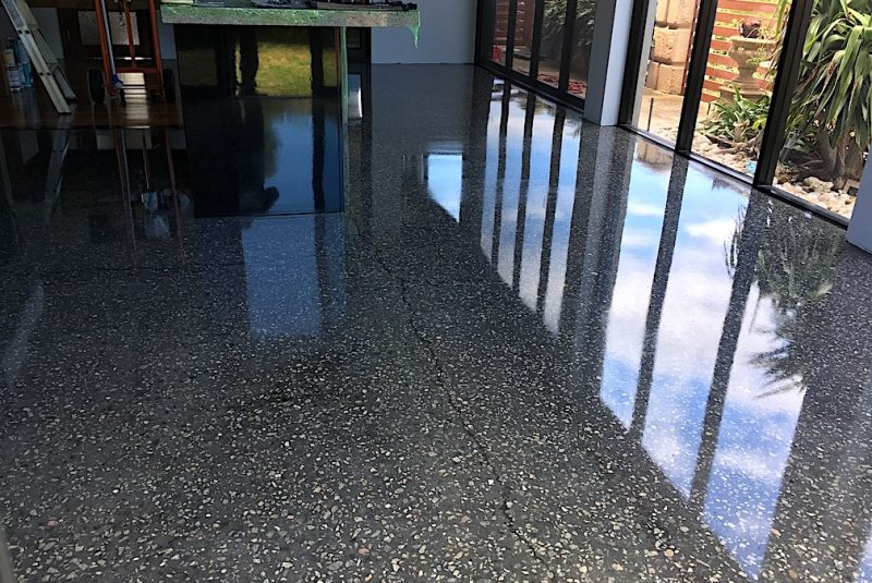 Residential Concrete Floor Polishing Perth