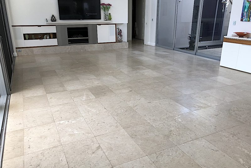 Limestone Flooring Cleaning Polishing - Infinity Floor Restoration