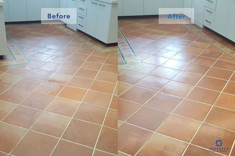 Terracotta Cleaning & Sealing