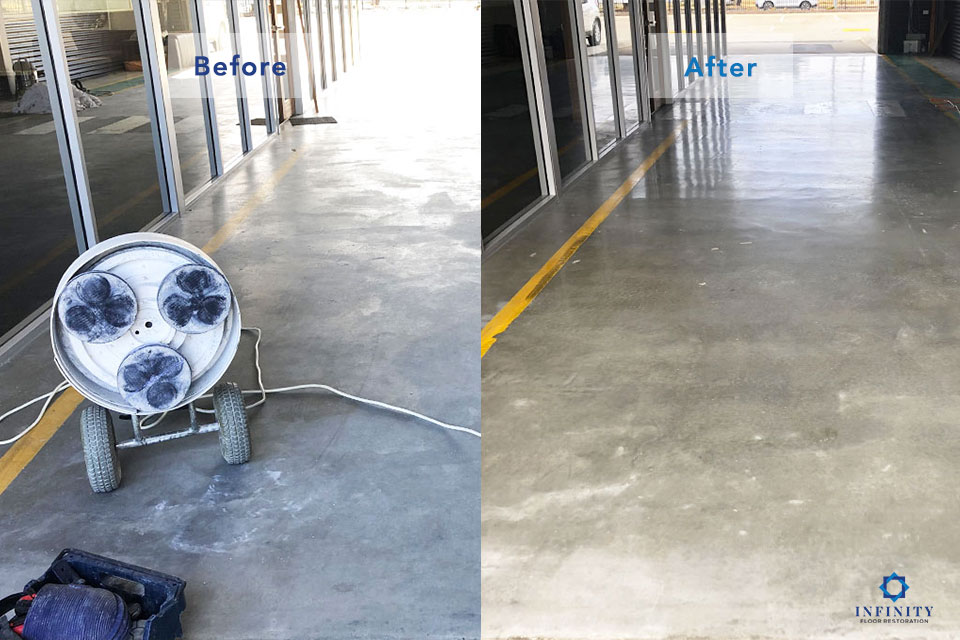 concrete-hone-polish-before-after-Infinity-Floor-Restoration-April-2019