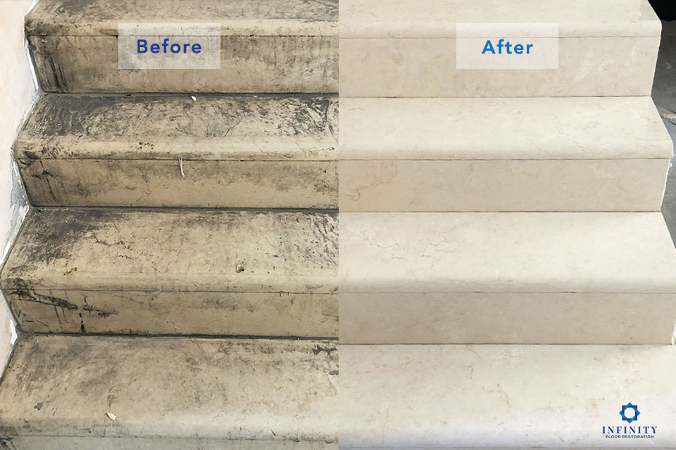 marble-fire-damage-before-after-Infinity-Floor-Restoration-April-2019