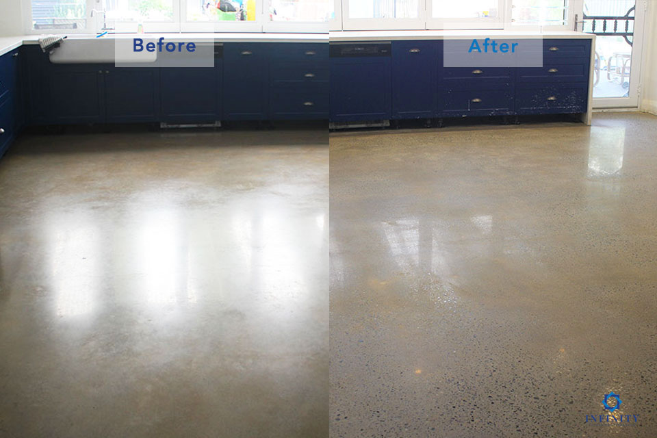 polished-concrete-2-after-before-Infinity-Floor-Restoration-April-2019