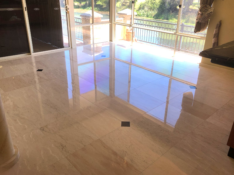 marble floor grinding polishing restoration