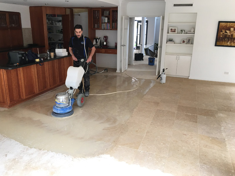 natural stone floor restoration