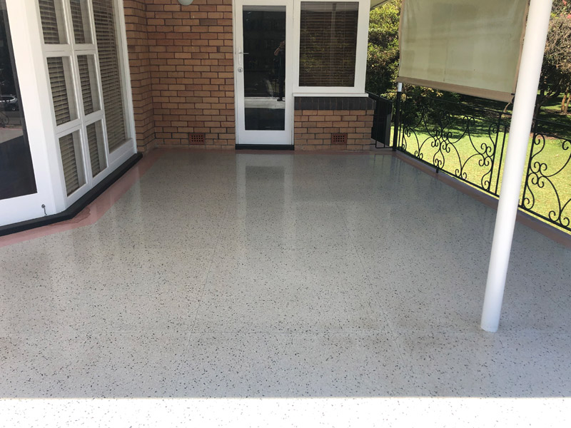 terrazzo floor cleaning polishing restoration