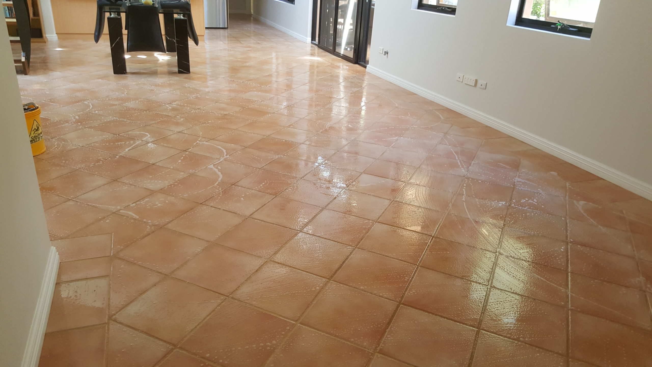 Terracotta Tile Grout Clean Seal Infinity Flooring 20161026 105550 Scaled